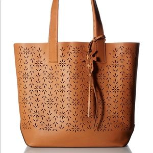 BRAND NEW: Frye Carson Floral Perforated Tote